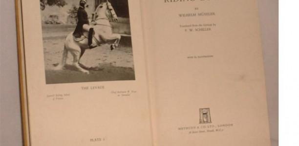 2. Wilhelm Mueseler – Kako se jahač nauči sedeti?