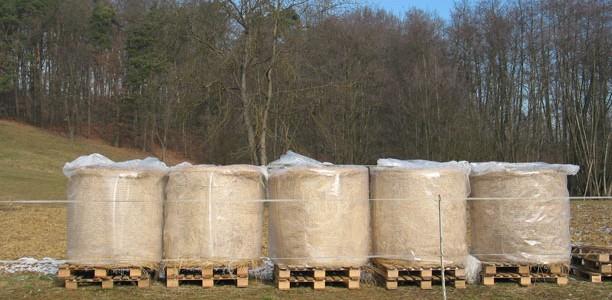 Ideja za skladiščenje okroglih bal